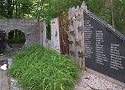 PEACE WALL & MOON GATE - Ohio